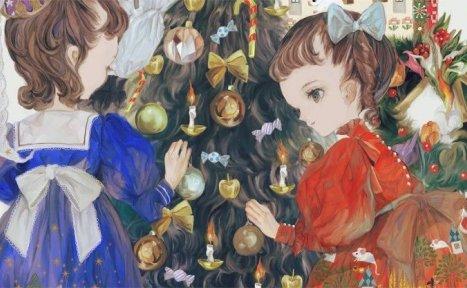 日本画师夜汽车老师的作品欣赏–注入灵魂的洛丽塔姬!